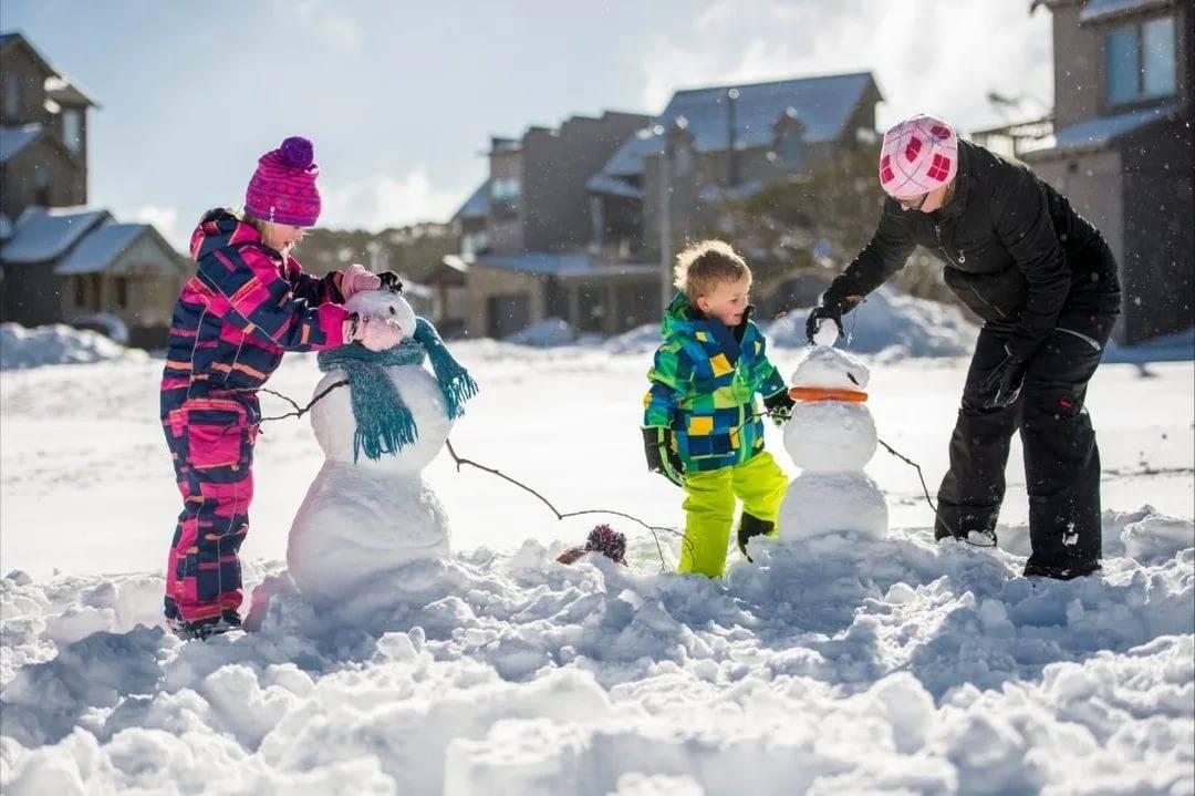Зимние забавы для детей   меню недели