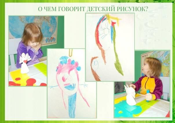 О чем может рассказать детский рисунок?
