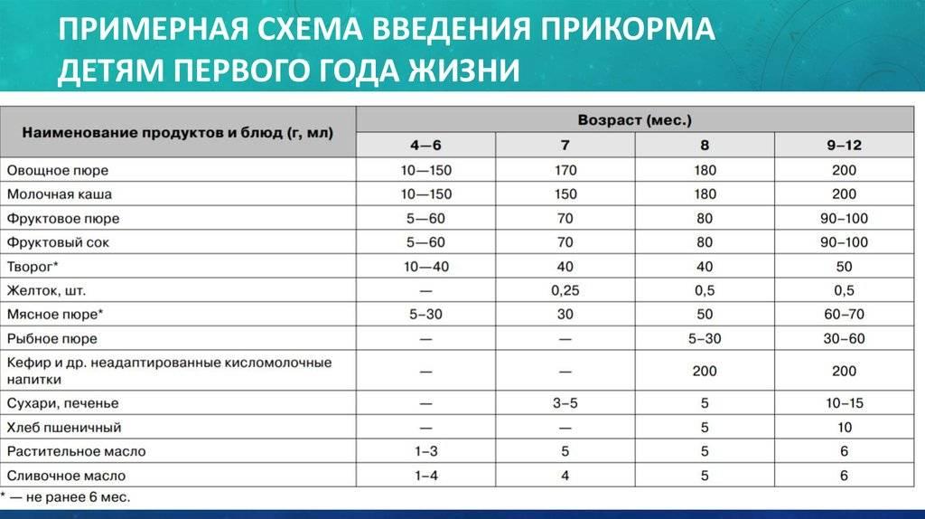 Питание грудного ребенка: таблица кормления, режим питания и советы по выбору продуктов (95 фото)