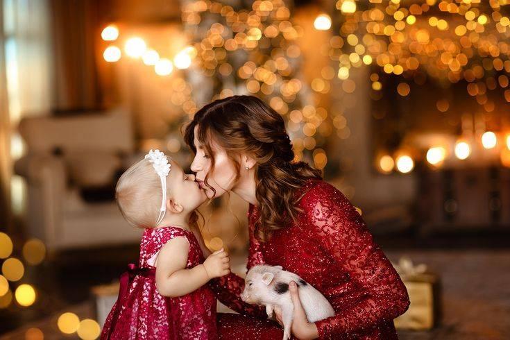 Новый год без забот: встречаем праздник с младенцем