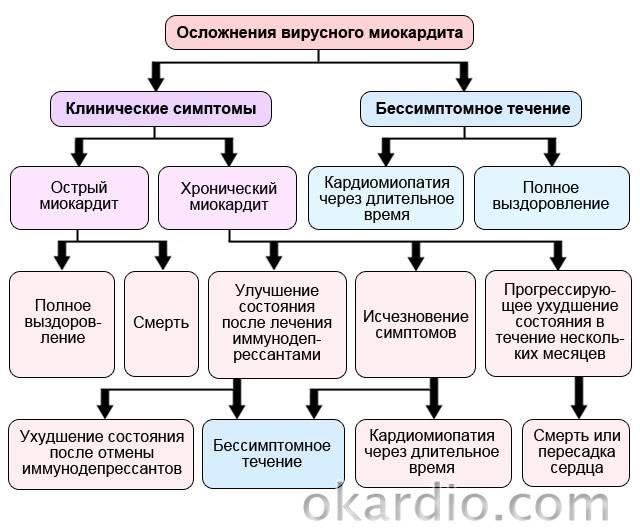 Миокардит: симптомы, лечение и рекомендации, виды и особенности у детей