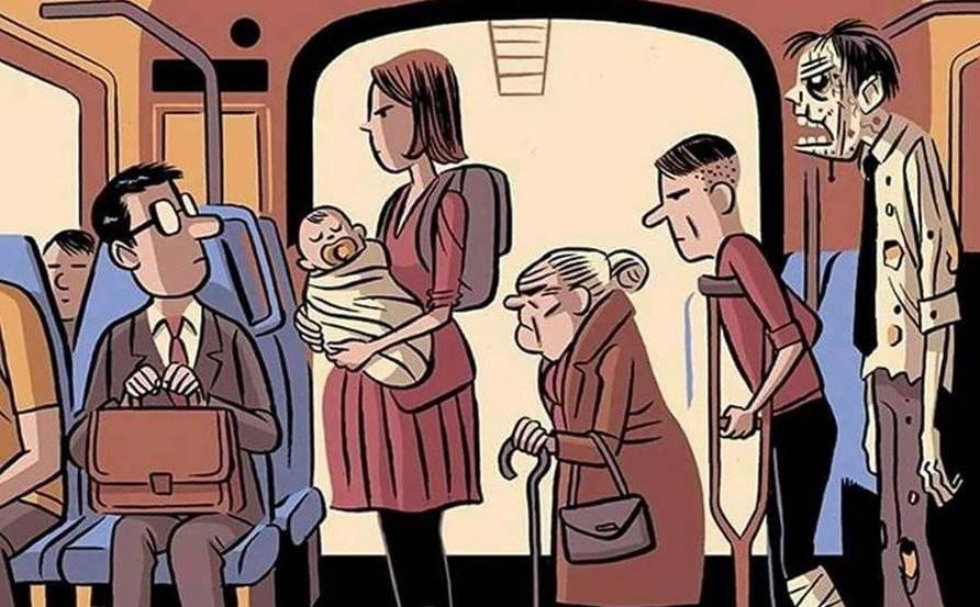 Как можно и нельзя вести себя в общественном транспорте