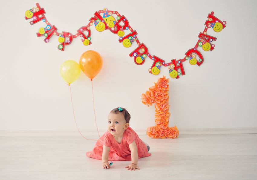 День рождения ребенка 1 год, сценарий дня рождения 1 год | снова праздник!