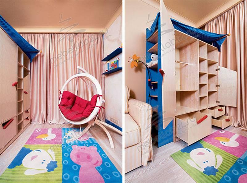 Интерьер, дизайн, оформление и мебель для детской комнаты (мальчик)