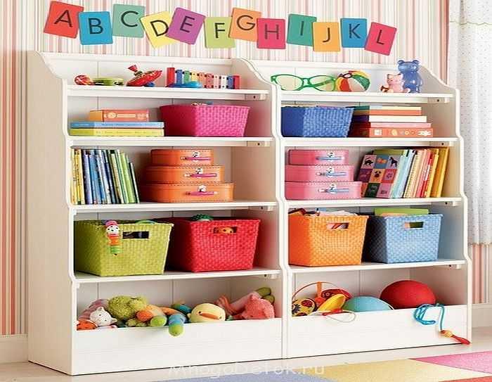 Как и где лучше хранить детские вещи