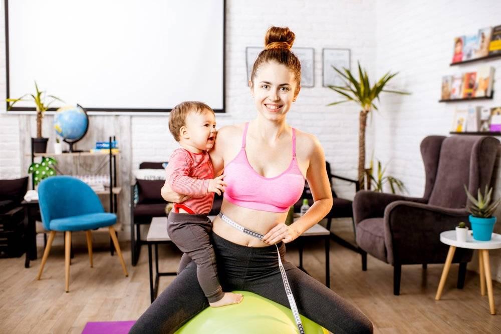 Сильно похудела после родов? причины: нагрузки, депрессия или заболевание