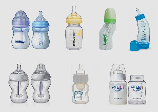 Бутылочки для кормления новорожденных: какие лучше, как выбрать