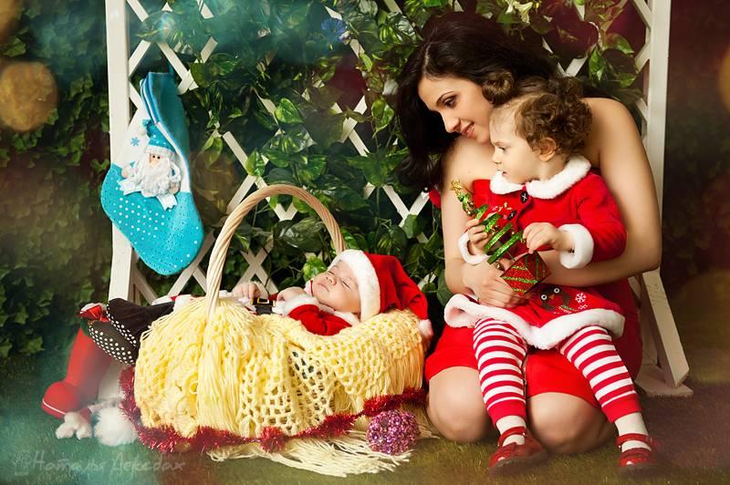 Как отметить новый год с маленьким ребенком   любящая мама