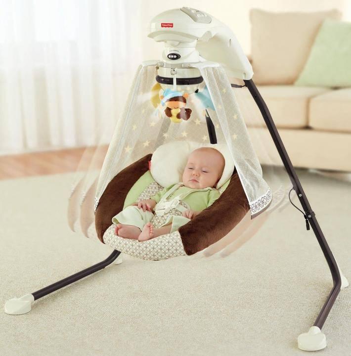Выбираем лучшие электронные качели для новорожденных | zdavnews.ru