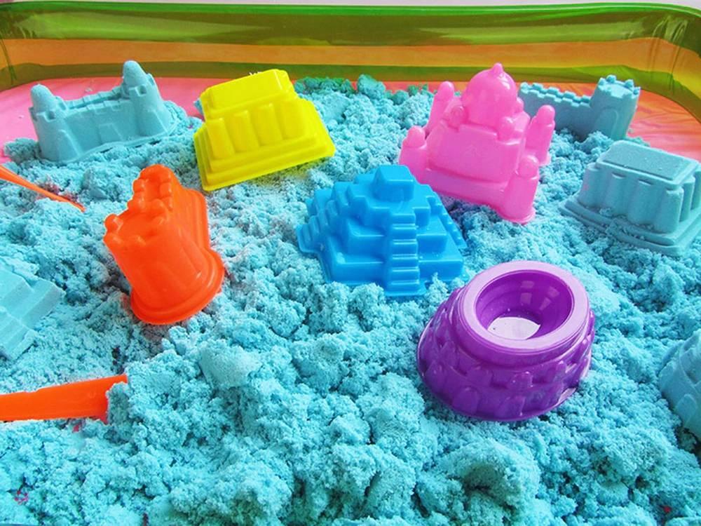 10 лучших наборов кинетического песка