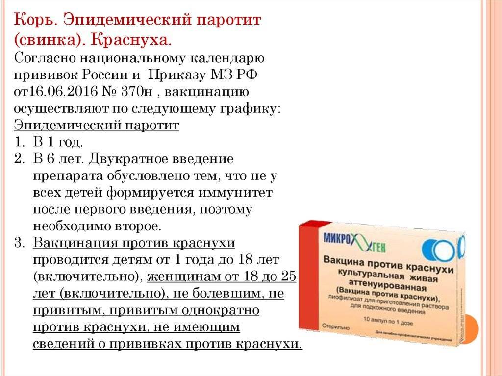 Вакцина против кори живая аттенуированная (meals vaccine live attenuated)