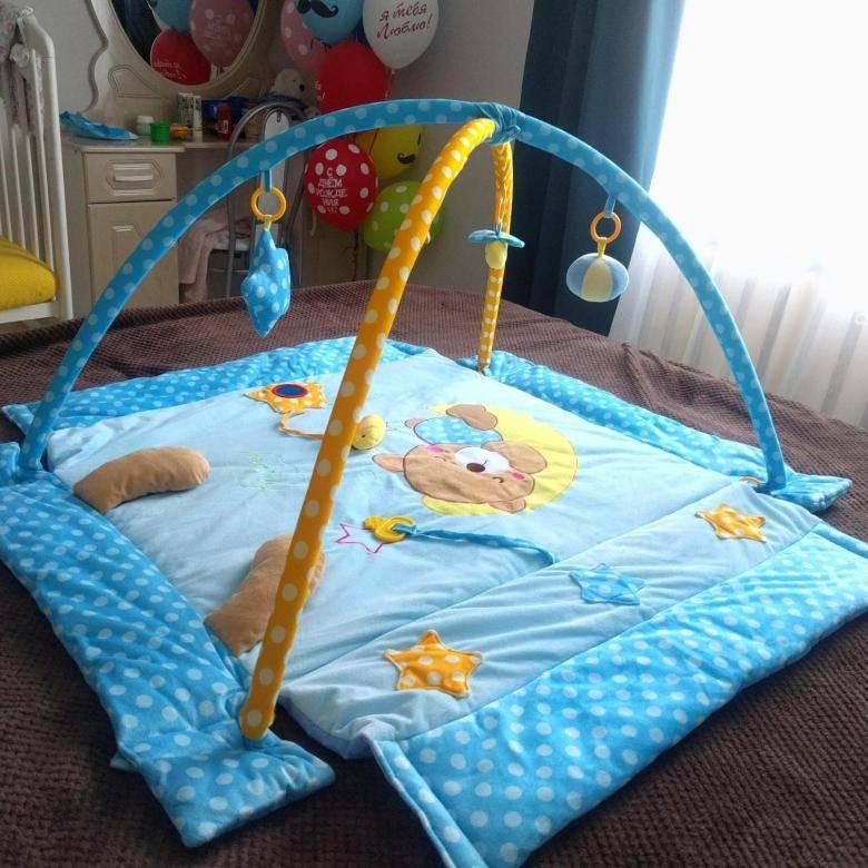 Развивающие коврики для детей от 0 до 18 месяцев: как выбрать модный аксессуар
