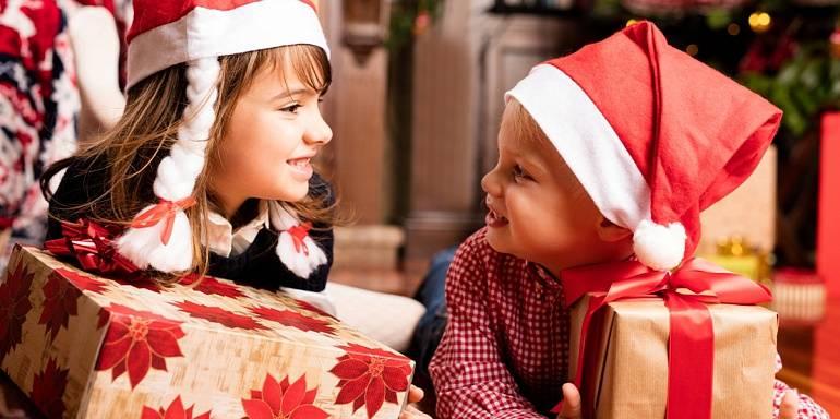 10 игр с детьми на Рождество и Новый год