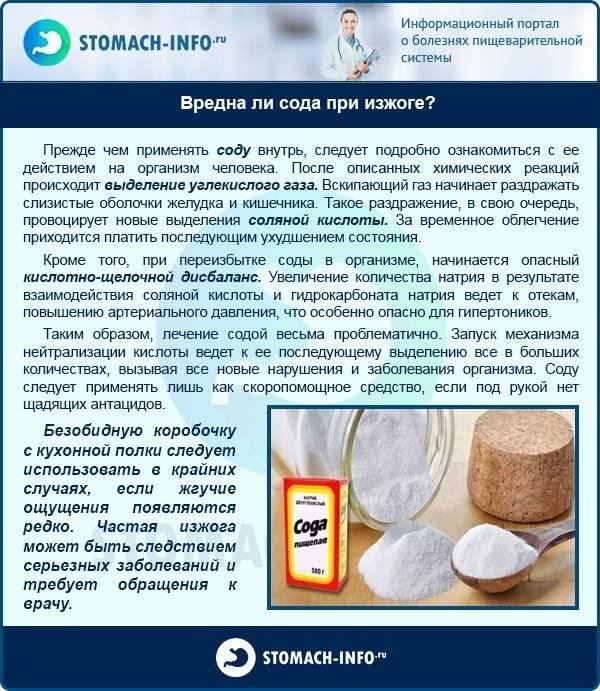 Мифы о лечении содой: почему это не панацея, а способ навредить   informburo.kz