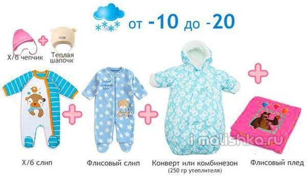 Как одевать грудничка на улицу летом, список одежды для младенца