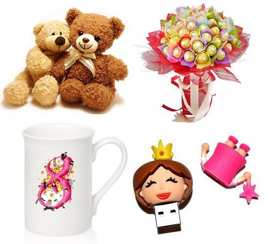 Подарки девочкам в школе на 8 марта разных классов: лучшие идеи