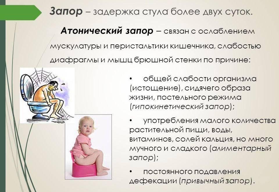 Запоры у детей до года: симптомы, причины, методы лечения