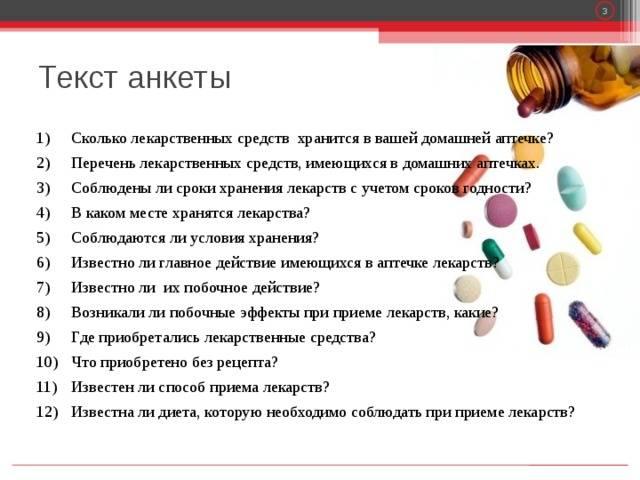 Список медикаментов для аптечки школьного кабинета
