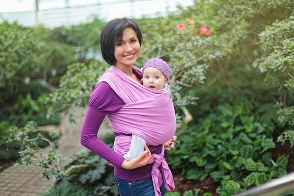 Слингомания: за и против   - новорожденный. ребенок до года