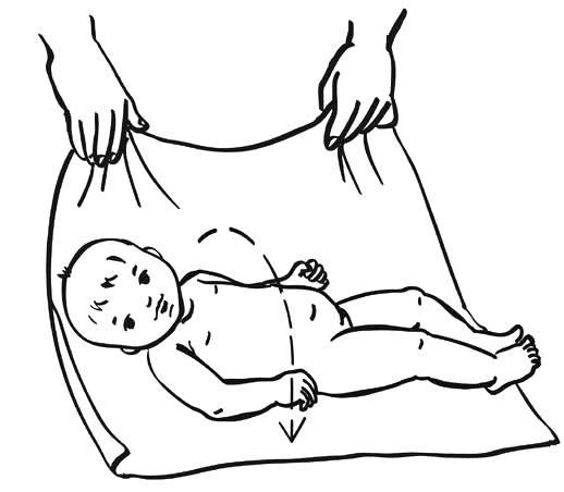 Как научить малыша в 3-4 месяца переворачиваться: простая, но действенная гимнастика