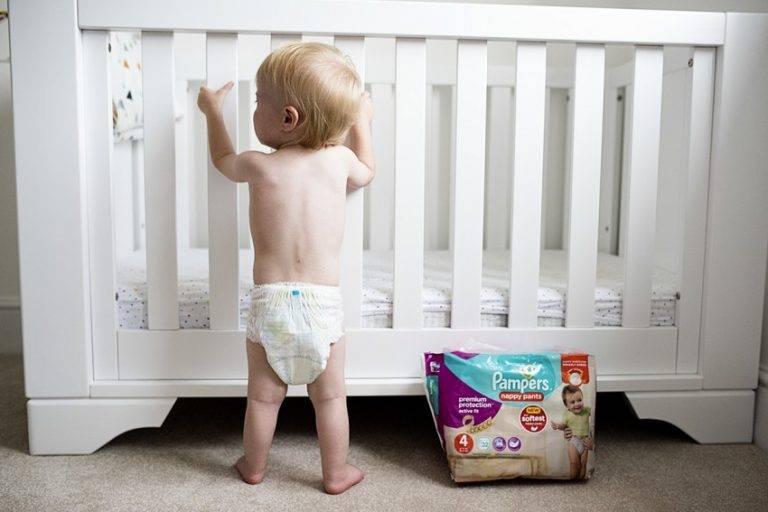Основные принципы отучения ребёнка от памперсов