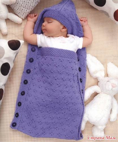 Носочки для новорожденных: описание для начинающих