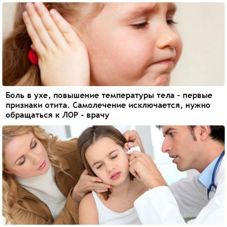 Отит- признаки и лечение