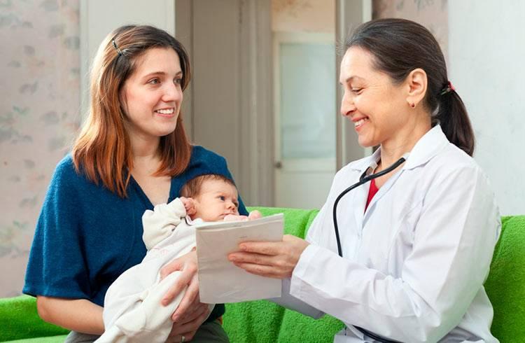Визит к педиатру с новорожденным: что нужно знать новоисп6еченной маме