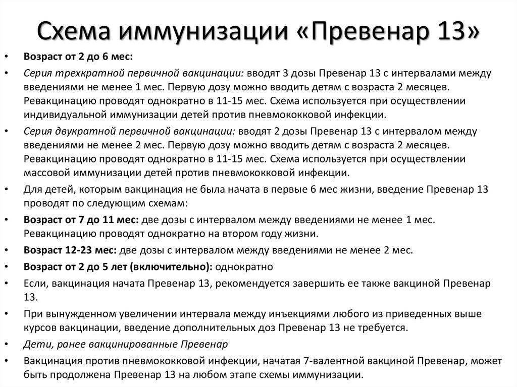 Превенар 13