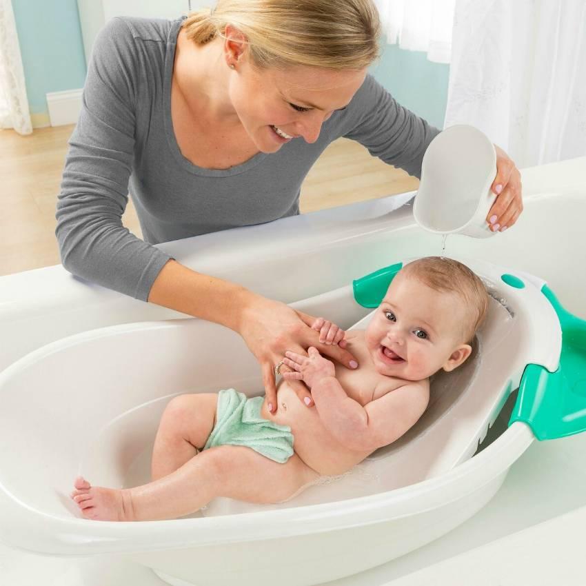 Как ухаживать за кожей новорожденного?