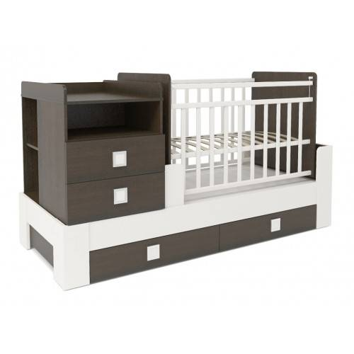 Идеальная кровать для ребёнка: выбираем модель-трансформер