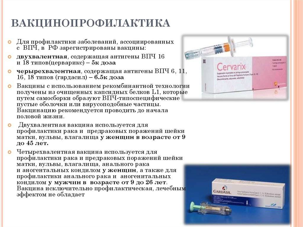 Прививки от вируса папилломы человека: цифры и факты