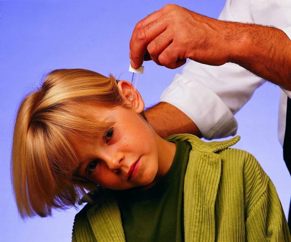 Отиты у детей. лечение