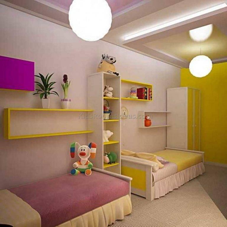 Зонирование детской комнаты: практические варианты оформления, особенности проектирования и идеи распределения места (110 фото + видео)