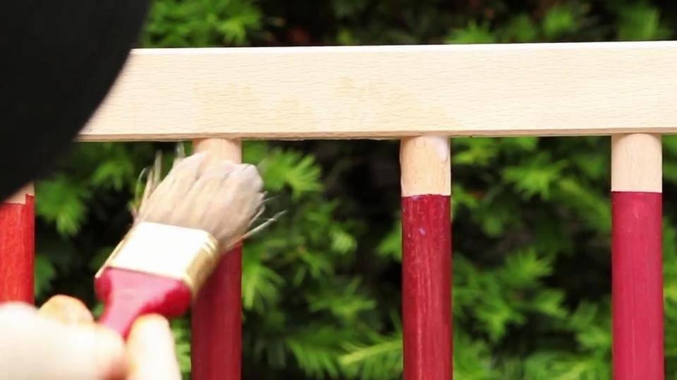 Реставрация лакированной мебели своими руками
