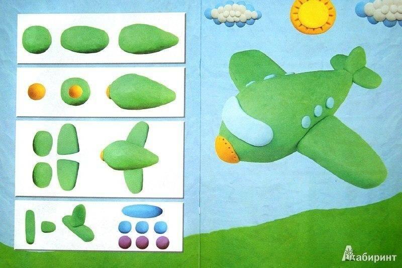 Лепка из пластилина для детей 3-4 лет