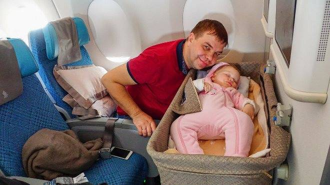 Перелет с новорожденным