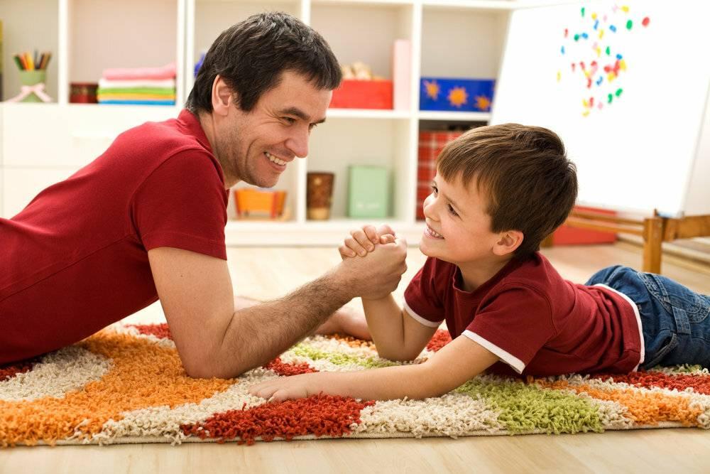 Игры папы с ребенком - parents.ru