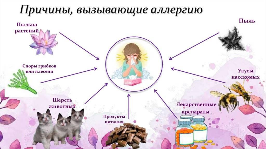 Аллергия на холод у ребенка на руках