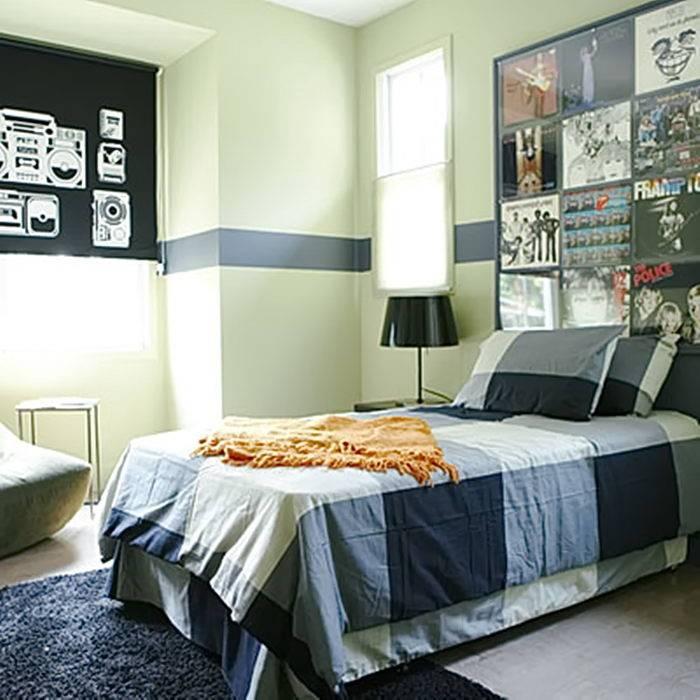 Обои для мальчика-подростка (67 фото): дизайн детской комнаты ребенка 14 или 15 лет, цвет стен в спальне 16-летнего подростка