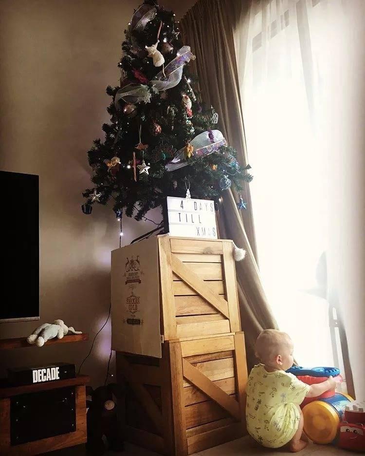 Животрепещущий вопрос: елка в доме, где есть маленький ребенок - «разное» » дети и я