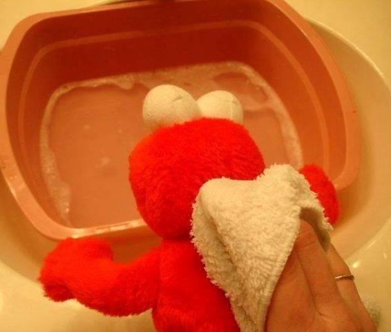 Как стирать мягкие игрушки?