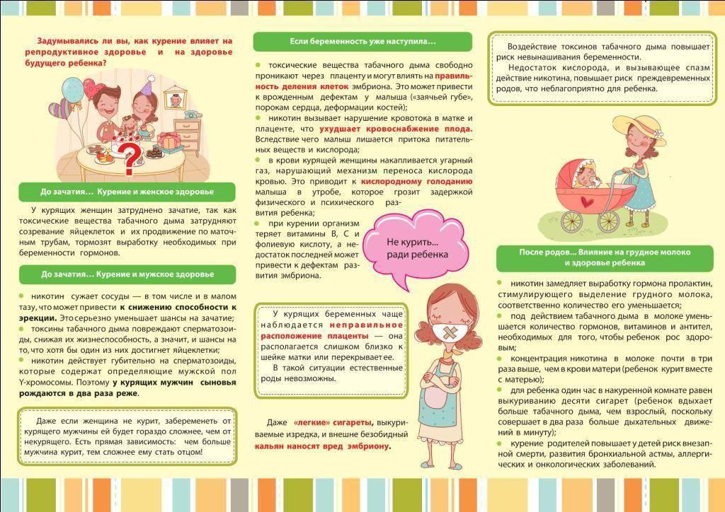 Курение во время грудного вскармливания: как влияет на ребенка