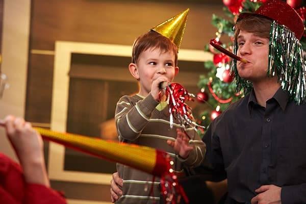 Новый год и дети: как отметить новый год с грудным ребенком и детьми постарше