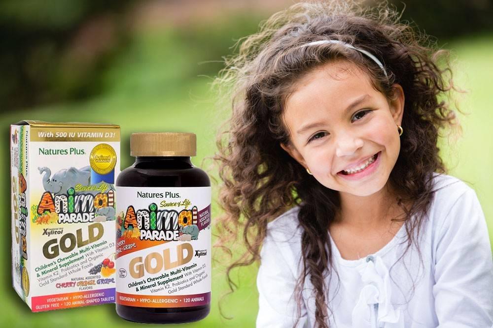 15 лучших витаминов для детей