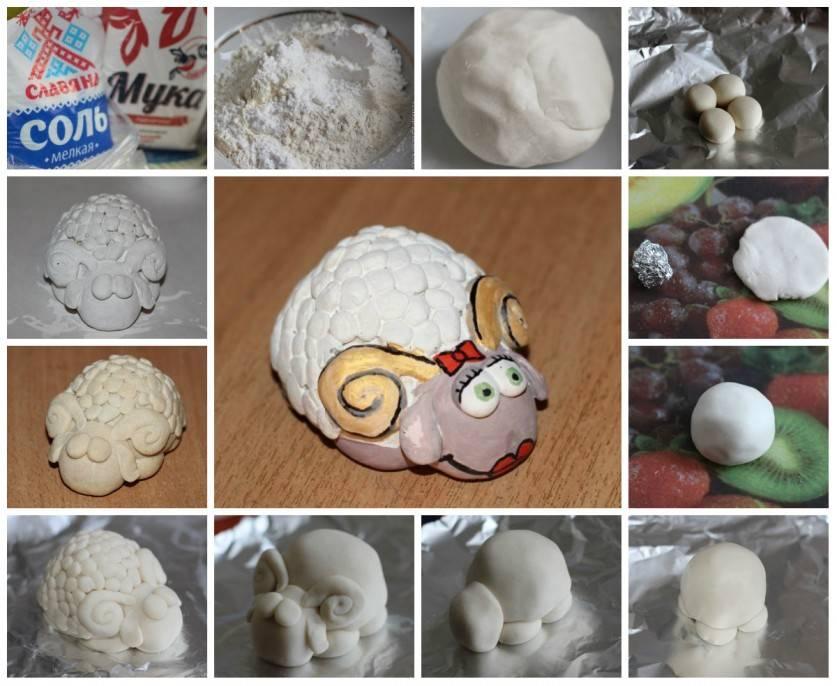 Как сделать соленое тесто для лепки своими руками - простая инструкция с описанием