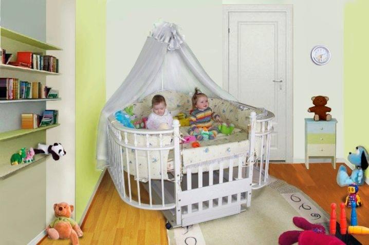 Помогите выбрать кроватки двойняшкам