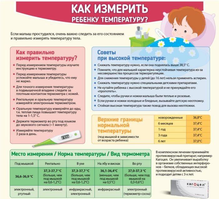 Какая температура должна быть у новорожденного: норма у грудничка по месяцам до 1 года