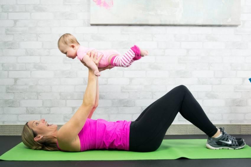 ♀️лучшие упражнения после родов: когда начинать и как делать