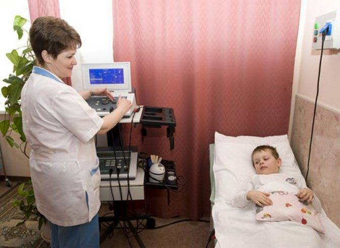 Использование электрофореза с эуфиллином у грудных детей, правила проведения, показания, ограничения